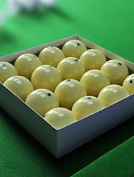 Billiard Balls Pool Compact Size Resin