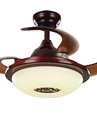 Ceiling Fan ,  Traditional/Classic Rustic/Lodge Vintage Retro Country Nickel Feature for LED MetalLiving Room Bedroom Dining Room Kitchen