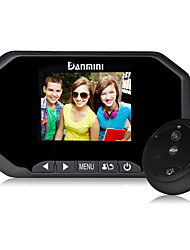 Danmini 3.0Inch Hd Screen Design for 160 Degrees Wide Angle  Super Night Vision Function Peephole Viewer.