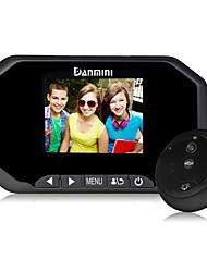 Conception d'écran HDD 3.0minch danmini pour visionneuse peephole à vision large de haute résolution de 160 degrés.