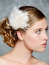 Hand Made Wedding Feather Hair Fascinator Headpieces Fascinators Headbands Hair Accessories Feather Wigs Accessories For Women 0019