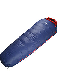 Sleeping Bag Mummy Bag Single 5 Duck Down75 Hiking Camping Breathability