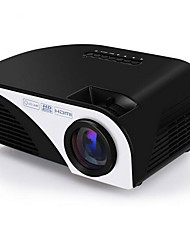 LCD FWVGA (854x480) Projecteur,LED 1200 Mini Portable HD Projecteur