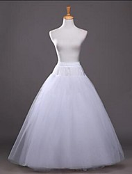 Slips A-Line Slip Ball Gown Slip Floor-length Tea-Length 3 Tulle Netting Polyester