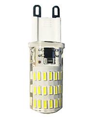 4W G9 Ampoules Maïs LED T 46 SMD 4014 380-420 lm Blanc Chaud Blanc Froid AC110-220 V 1 pièce