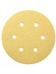 Tigela de areia bosch 150mm p280-6 furo de volta pilha disco de areia papel de areia / 1 peça