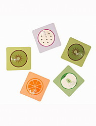 Multi-functional Creative PET/AS Fruits Pattern Robe Hooks