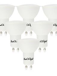 5W GU10 Spot LED 10 SMD 5730 400 lm Blanc Chaud Blanc Froid AC 85-265 V 6 pièces