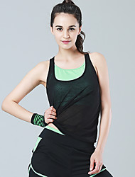 Yoga Tank Tops High Breathability (>15,001g) smooth Lightweight Materials Comfortable Stretchy Sports WearYoga Pilates Exercise & Fitness