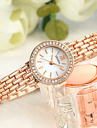 Women's Fashion Watch Quartz Alloy Band Silver Gold Silver Gold
