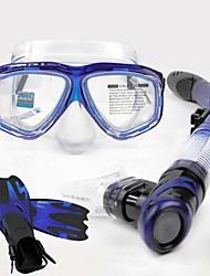 Diving Masks Snorkels Protective Diving / Snorkeling Neoprene Fibre Glass silicone