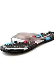 Masculino-Chinelos e flip-flops-Conforto-Rasteiro--PVC-Casual