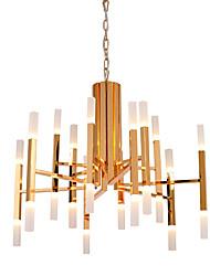 Lustre ,  Contemporain Peintures Fonctionnalité for LED Designers Métal Salle de séjour Chambre à coucher Bureau/Bureau de maison