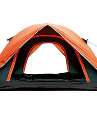 3-4 человека Световой тент Один экземляр Семейные палатки Однокомнатная Палатка 1500-2000 мм СтекловолокноВодонепроницаемый