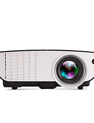 LCD WVGA (800x480) Proyector,LED 2000 Mini Portable HD Proyector