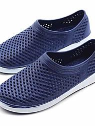 Masculino-Sandálias-Conforto-Rasteiro--Borracha-Ar-Livre Casual