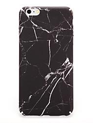 Pour Apple iphone 7 7plus casquette couverture couverture coque arrière marbre dur pc 6s plus 6 plus 6s 6
