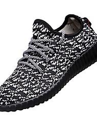 Da uomo-Sneakers-Tempo libero Casual Sportivo-Comoda pattini delle coppie-Basso-Tessuto-