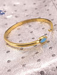 Femme Manchettes Bracelets Bijoux Vintage Alliage Forme d'Animal Or Argent Bijoux Pour Soirée Occasion spéciale 1pc