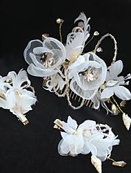 Сплав ткани headpiece-wedding специальный случай случайный открытый зажим волос 1 часть