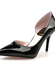 Feminino-Saltos-Sapatos clube Sapatos formais-Salto Agulha--Couro Ecológico-Ar-Livre Escritório & Trabalho Casual