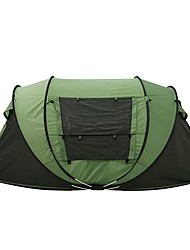 3-4 persons Tent Double Camping Tent Pop up tent 2000-3000 mm for Camping Traveling-200*280*120 CM One Room