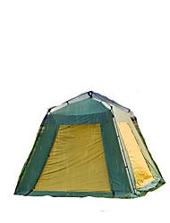 > 8 человек Световой тент Двойная Автоматический тент Однокомнатная Палатка 2000-3000 мм Алюминий Оксфорд СеткаВлагонепроницаемый