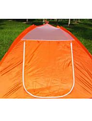 3-4 Pessoas Tenda Único Tenda Automática Um Quarto Barraca de acampamento 1000-1500 mm Fibra de Vidro OxfordÁ Prova de Humidade Prova de