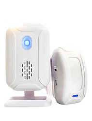 Lingang Split Wireless Infrared Shop Welcome Guests Ding Dong Welcome To The Sensor Doorbell Burglar Alarm 1 Host 1 Sensor