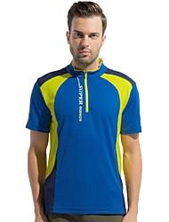 Homme Tee-shirt Camping / Randonnée Pêche Escalade Respirable Séchage rapide Vestimentaire Eté