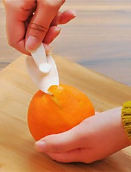 1Pcs   Orange Peelers Zesters Opener Practical Lemon Fruit Slicer Fruit Stripper Opener Fruit & Vegetable Cooking Tools Random Color