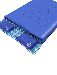 Sleeping Bag Rectangular Bag Double -0 1020 T/C CottonX150 Camping Keep Warm Moistureproof/Moisture Permeability