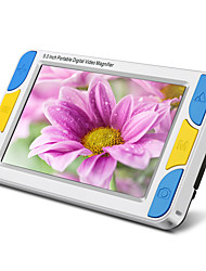 Visiondrive VD-500 Low Vision Reading Amplifier 5 Inch Screen with Two Hd Lens Video Magnifier