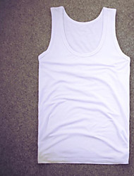Men's Casual/Daily Simple Tank Top,Solid Halter Sleeveless Cotton