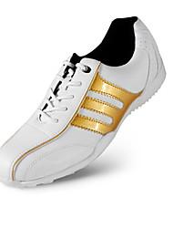 Повседневная обувь Обувь для игры в гольф Жен. Противозаносный Anti-Shake Амортизация Дышащий Износостойкий Выступление Низкое голенище