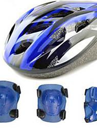 Детские Универсальные шлем Легкая прочность и долговечность Плотное облегание Износоустойчивый Простой Велосипедный спорт