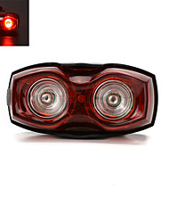 2-LED Super Light Bicycle Rear/Tail Light Cycling Safety Warning Light
