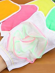 Перчатки и тряпки Экологически чистый Текстиль Для душа Ванна Кэдди