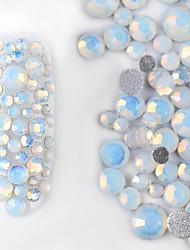 800 штук / множество красочных жемчужины жемчуг 3d украшения макияж дизайн ногтя дизайн