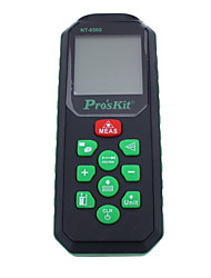 Proskit  NT-6560 Handheld Digital 60m 196ft Laser Distance Measurer with Distance & Angle Measurement(1.5V AAA Batteries)