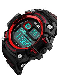 Smart Watch Etanche Longue Veille Multifonction Minuterie Chronomètre Fonction réveille Chronographe Calendrier IR Pas de slot carte SIM