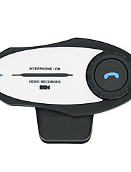 Motorsport Bluetooth Camera Video Recorder BT Interphone Bluetooth Intercom Headset