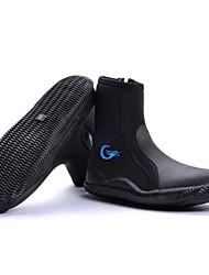 YON SUB Wassersport Schuhe Unisex Rutschfest Anti-Shake Wasserdicht Dick 5mm YKK Reißverschluss Neopren Gummi Tauchen
