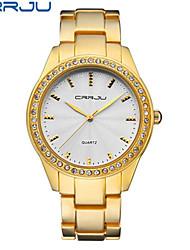 Mulheres Relógio de Moda Chinês Quartzo Lega Banda Casual Preta Dourada Ouro Rose