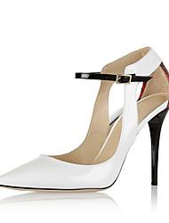 Mujer-Tacón Stiletto-Zapatos del club-Tacones-Oficina y Trabajo Vestido Fiesta y Noche-PU-