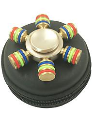 Spinners de mão Mão Spinner Brinquedos Seis Spinner Metal EDCO stress e ansiedade alívio Brinquedos de escritório Alivia ADD, ADHD,
