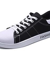 Herren-Sneakers Frühjahr fallen Komfort PU lässig blau beige schwarz