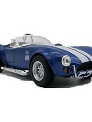 Race Car Pull Back Vehicles Car Toys 1:32 Metal Black Model & Building Toy