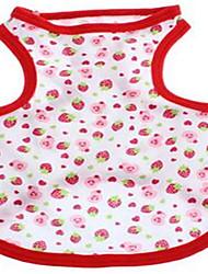 Dog Vest Dog Clothes Summer Fruit Cute