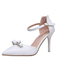 Damen-High Heels-Büro Kleid-PU-Stöckelabsatz-Komfort-